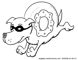 donut coloring pages getcoloringpages