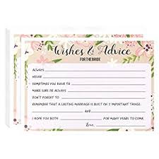 Advice To Bride And Groom Cards Amazon Com Marriage Advice And Well Wishes Cards For The New Mr