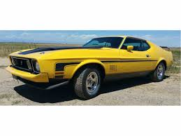 Mustang Mach One 1973 Ford Mustang Mach 1 For Sale Classiccars Com Cc 701122