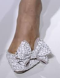 wedding shoes embellished gorgeous embellished white bow bridal shoes bumping hanger