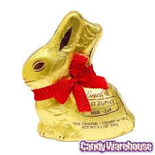 lindt easter bunny lindt gold foiled 3 5 ounce milk chocolate easter bunny