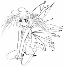 anime fairy pencil drawings pictures to pin on pinterest thepinsta