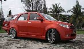 Rush Interiors Car Picker Red Toyota Rush