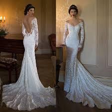 wedding dress lace backless wedding dress lstore