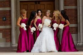lazaro bridesmaid dresses raspberry bridesmaid dresses naf dresses