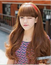 asian headband light chocolate brown hair dye for hairstyles with bangs that