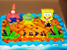 spongebob squarepants cake spongebob birthday cakes squarepants for kids wow pictures