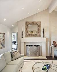 Sloped Ceiling Recessed Lighting Living Rooms Recessed Light Wood Floors Living Room