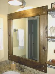 bathroom awesome stick on frames for bathroom mirrors nice home