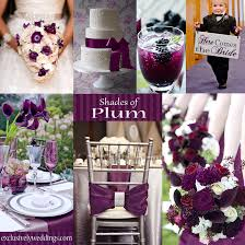 wedding colors plum wedding color four fantastic choices exclusively weddings