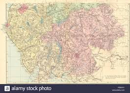 Lake Cumberland Map Lake District Cumbria U0026 Westmorland South Sheet County Map Gw