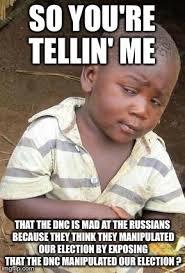 So You Re Telling Me Meme - skeptical african kid solo memes imgflip