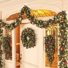 Outdoor Garland Lights How To Decorate Garland Improvements