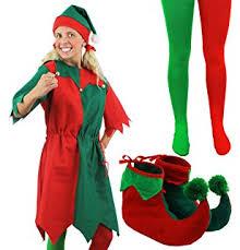 Elf Halloween Costumes Mens Elf Costume Henbrandt Amazon Uk Toys U0026 Games