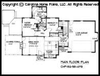 sg 981 reverse main floor plan house plans pinterest