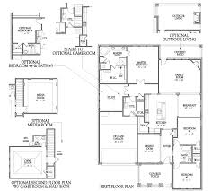 classic home floor plans 3032 floor plan at sienna plantation american classic series in