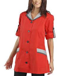 blouse femme de chambre hotellerie hôtellerie yb protection et sécurité