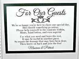 Poem For Wedding Bathroom Basket Wedding Bathroom Basket Poem Printable Signs Baskets Day Sign