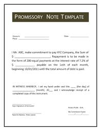 45 free promissory note templates u0026 forms word u0026 pdf template lab