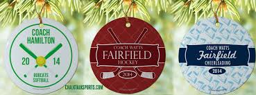 personalized christmas ornaments for all sports chalktalksports blog