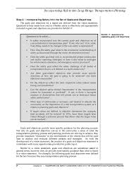 define objective statement chapter 6 incorporating safety considerations into transportation page 9