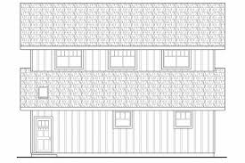 country house plans barn associated designs two story barn design left elevation