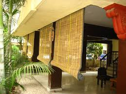 balcony curtain outdoor fresh bamboo shades shade pinterest patio blinds curtain