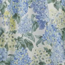 Valance Blue Hydrangea Tie Up Valance Ellis Curtain Curtainshop Com