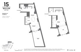 15 william street floor plans new york city