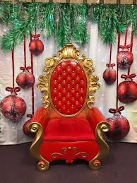 santa chair rental santa throne chair rental in ny nyc nj ct island
