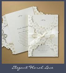 wedding invitations lace wedding invitations