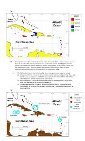 Map Of The Caribbean Sea by Location Of The Caribbean 6th Form