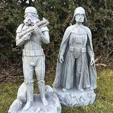 wars 16 darth vader stormtrooper figures garden ornament