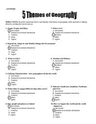 5 themes of geography lesson 5 themes of geography by the creative cabinet teachers pay teachers