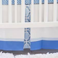 Crib Bedding Separates Blue And White Crib Skirt Blue Crib Skirts Blue Crib Skirt