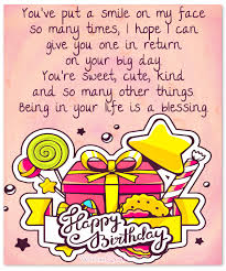 Happy Birthday Wishes Message 100 Sweet Birthday Messages Adorable Birthday Cards Wishes And