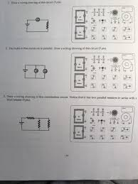 draw a wiring drawing of this circuit the bulbs i chegg com