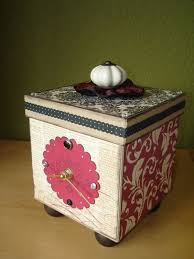 decorative paper boxes 19 best paper mache containers boxes images on altered