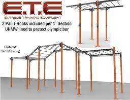 monkey bar rig extreme training equipment