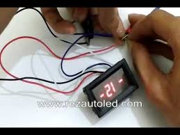 membuat jam digital led besar setting jam digital mini untuk motor rezautoled youtube