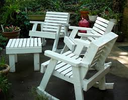 Wooden Outside Chairs White Wooden Garden Chairs Good Home Design Contemporary And White