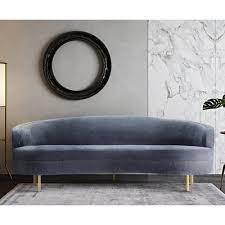 Velvet Sofa Bed Willa Arlo Interiors Hewitt Velvet Sofa U0026 Reviews Wayfair