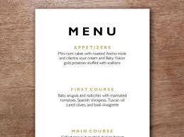 menu template wedding best 25 wedding menu template ideas on wedding dinner