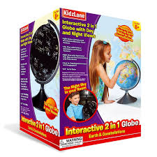 Interactive World Map For Kids by Interactive Globe For Kids 2 In 1 Day View World Globe And Night
