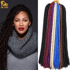 Braid Hair Extensions by Aliexpress Com Buy 18 U0027 U0027 Havana Mambo Faux Locs Crochet Hair