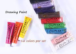 amazon com finger angel 12 colors oumaxi acrylic paint nail art