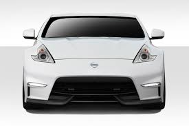 nissan 370z under 5000 fit 2009 2015 370z duraflex n 3 front bumper cover 1 piece body