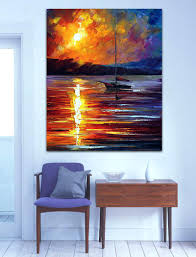 wall ideas inspirational wall art for office wall art for office wall art for office lobby wall art for office building framed wall art for office sailing boat on dust ocean scene 100 hand painted canvas oil paintings