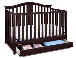Espresso Convertible Crib by Graco Solano 4 In 1 Convertible Crib With Drawer Espresso
