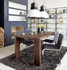 Dining Table With Grey Chairs Decorating With Chrome Furniture